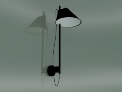 Wall lamp YUH WALL (LED 27K, BLK)