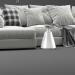 3d Boconcept Cenova Sofa model buy - render