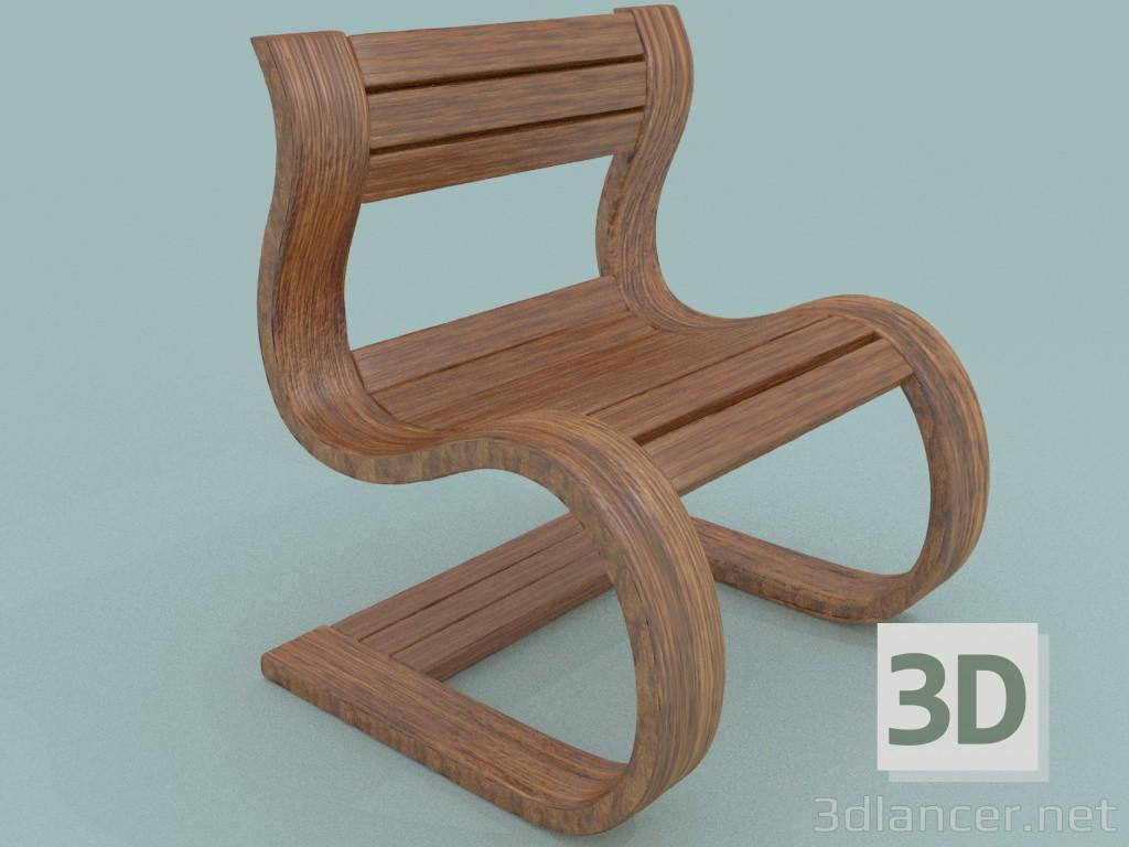 3 डी मॉडल बगीचे कुर्सी - पूर्वावलोकन