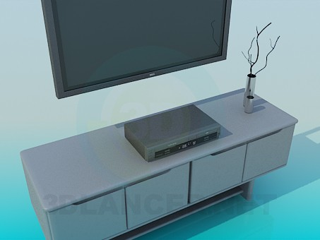 3d model Furniture for TV - preview