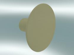 Appendiabiti Dots Wood (Ø6,5 cm, Verde-Beige)