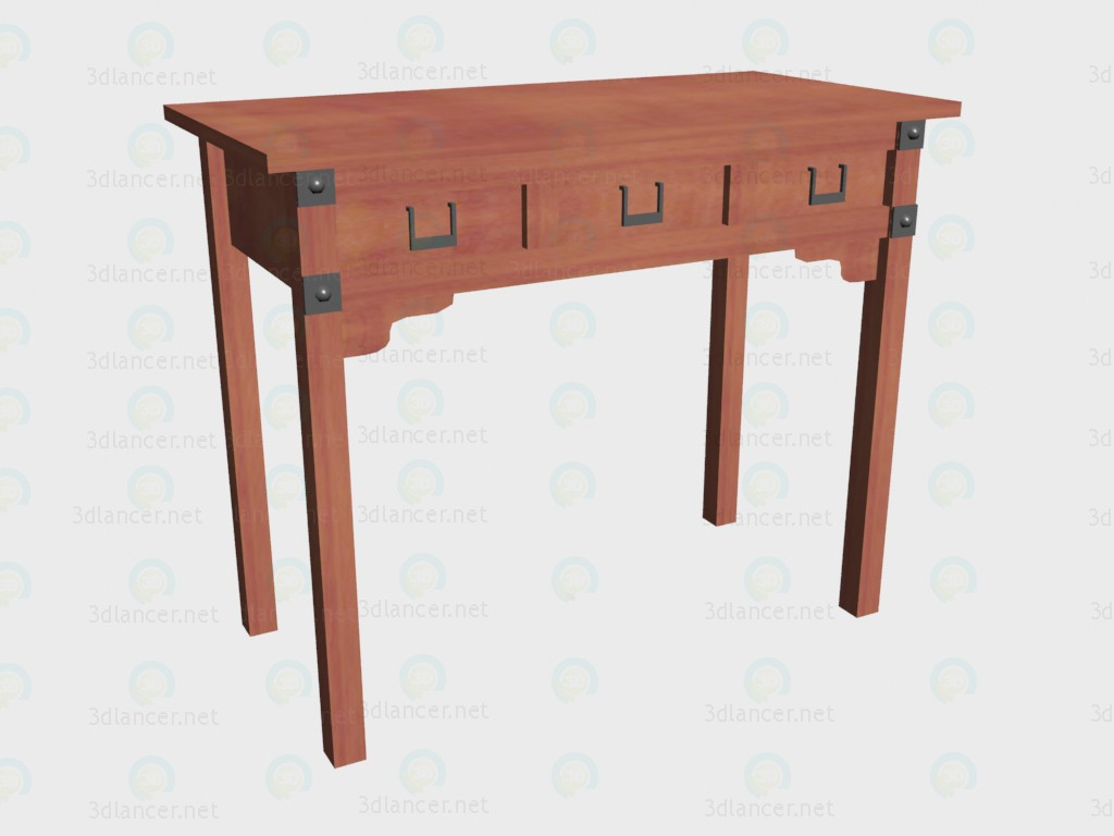 3d model Table dressing VOX - preview