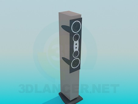 descarga gratuita de 3D modelado modelo Altavoz