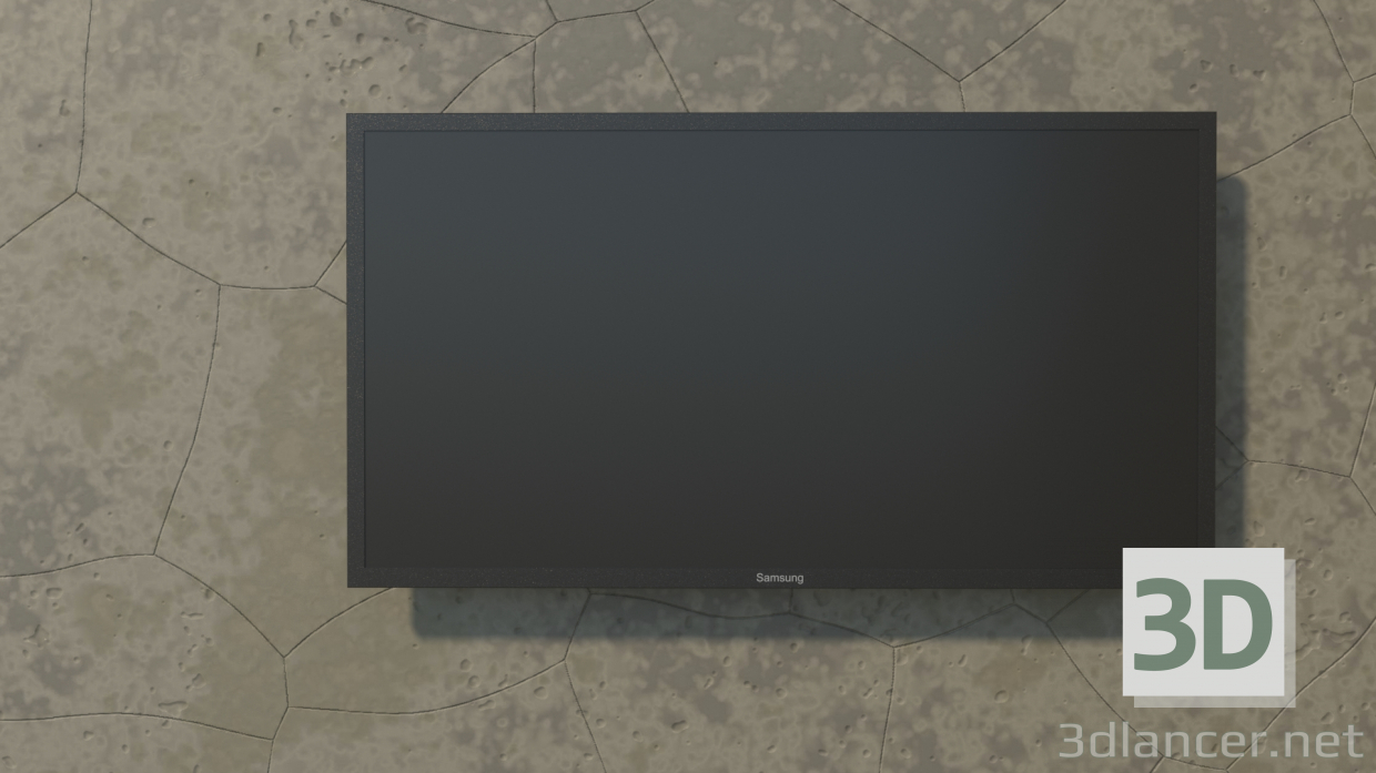 3d model TV Samsung TV - preview