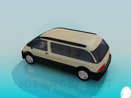 modelo 3D Monovolumen - escuchar