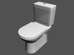 Toilet bowl Floor l pro wc3 380x670x787