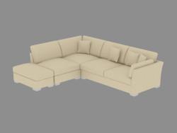 Modular corner sofa Fiesta