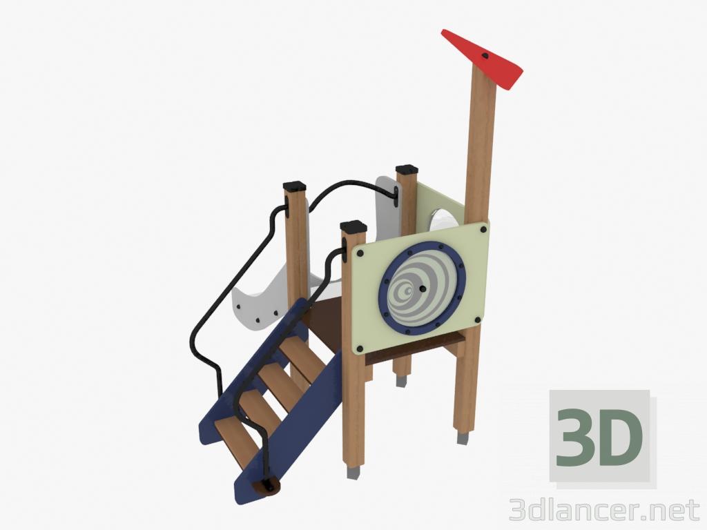 3 डी मॉडल बच्चों का खेल परिसर (4428) - पूर्वावलोकन