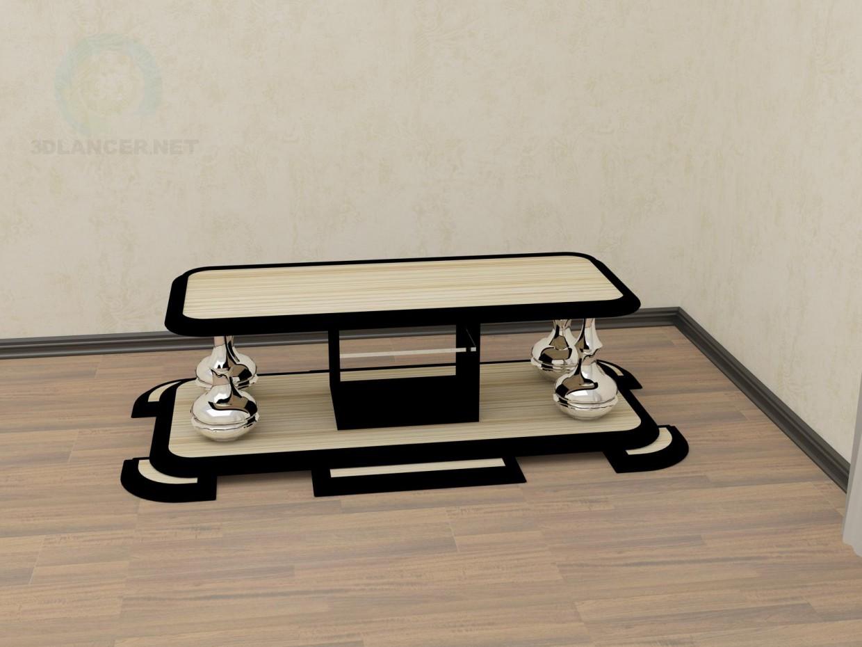 3d модель стол игральный – превью