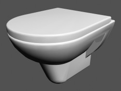 Toilet bowl Wall-mounted l pro wc4 820952