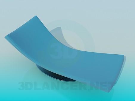 3d modeling Trestle-bed model free download