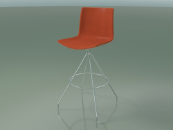 Bar chair 0497 (with front trim, bleached oak)