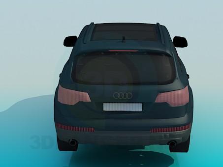modelo 3D Audi Q7 - escuchar
