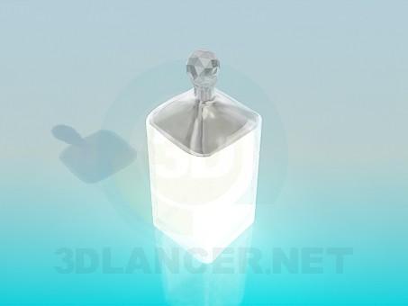 3d моделирование Хрустальная сахарница модель скачать бесплатно
