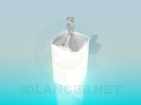 3d модель Хрустальная сахарница – превью