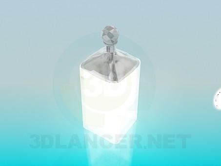 3d модель Кришталева цукорниця – превью