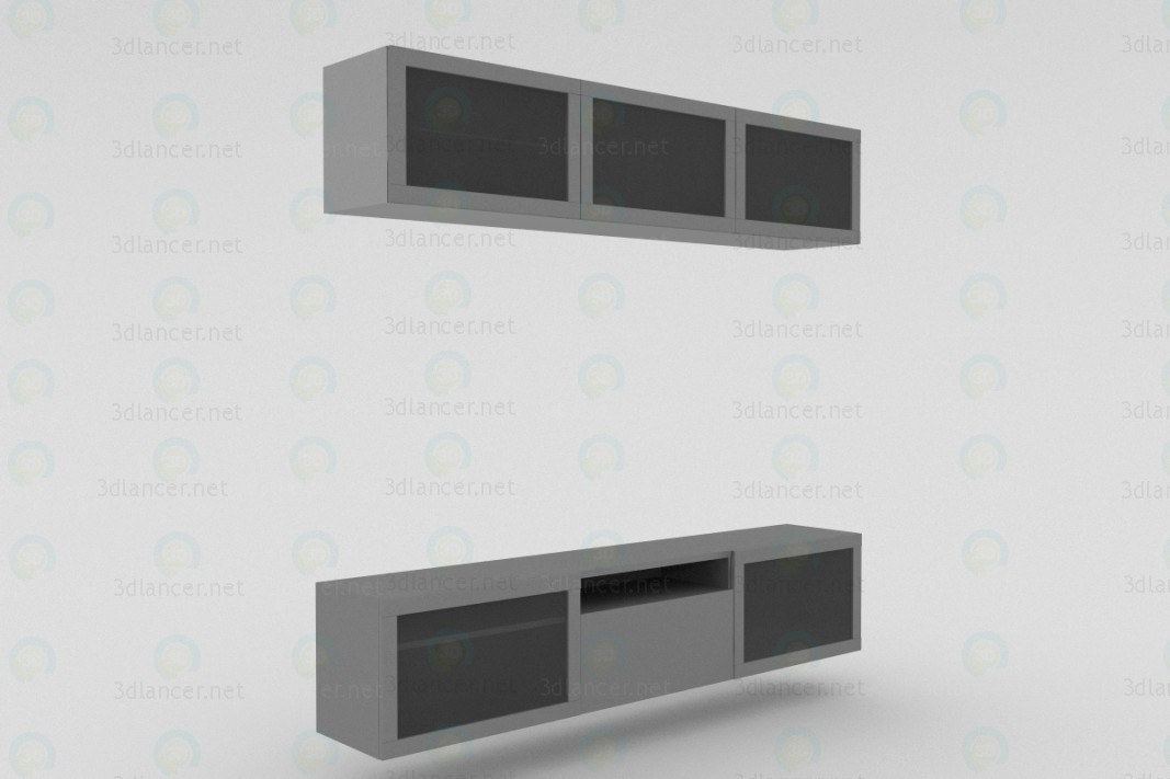 3d model TV-Stand - preview