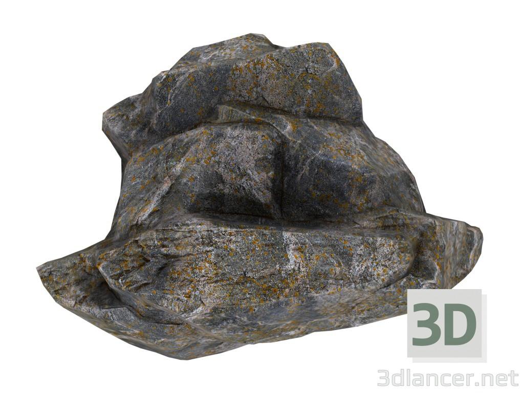 3d модель Камни – превью