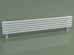Radiatore orizzontale RETTA (6 sezioni 1800 mm 60x30, bianco lucido)