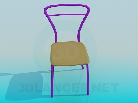 3d modeling Stool metal-based model free download