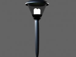 уличный фонарик на солнечных батареях