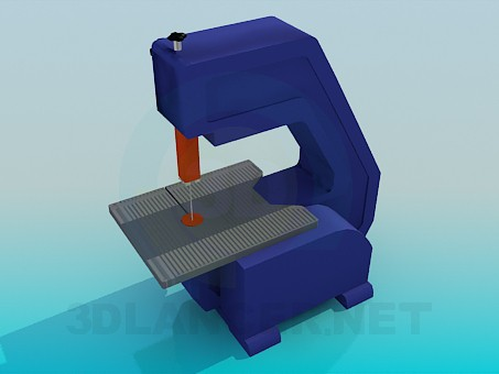 3d modeling Machine for cutting model free download