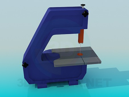 3d model Machine for cutting - preview
