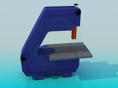 3d модель Верстат для різання – превью