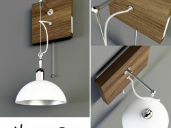 Wooden sconces