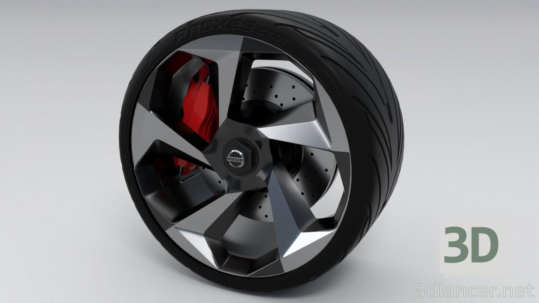3d model Conducir Nissan GTR Concept R-36 - vista previa