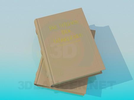 3d modeling Book model free download