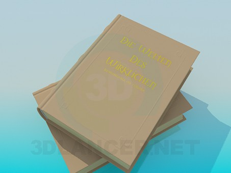 3d model Book - preview