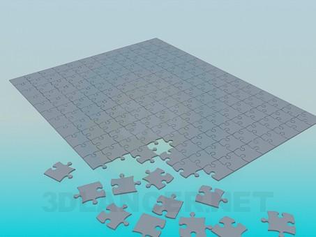 3d model Puzzle - preview