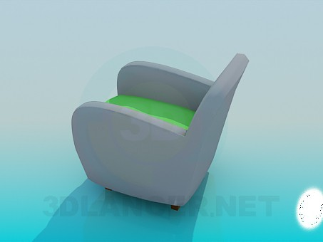 3d model Easy chair - preview