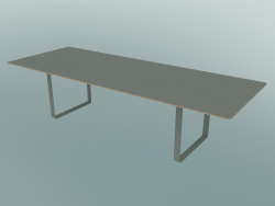 Table 70/70, 295x108cm (Gris)