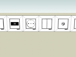 Sockets and switches Legrand