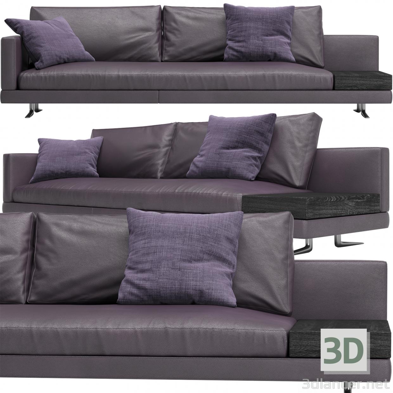 3d Sofa_Mondrian_Poliform model buy - render
