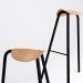 3 डी मॉडल TORU डिजाइनर चमड़े की कुर्सी टट्टू (टट्टू) - पूर्वावलोकन