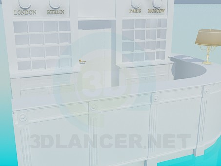 3d model Reception - preview