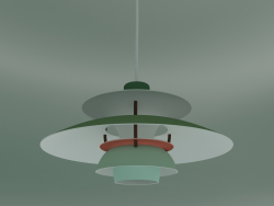 Pendant lamp PH 5 MINI (E14, HUES OF GREEN)