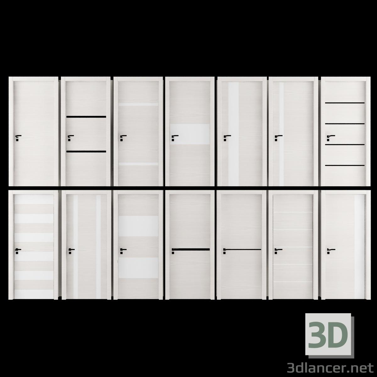3 डी मॉडल दरवाजा - पूर्वावलोकन