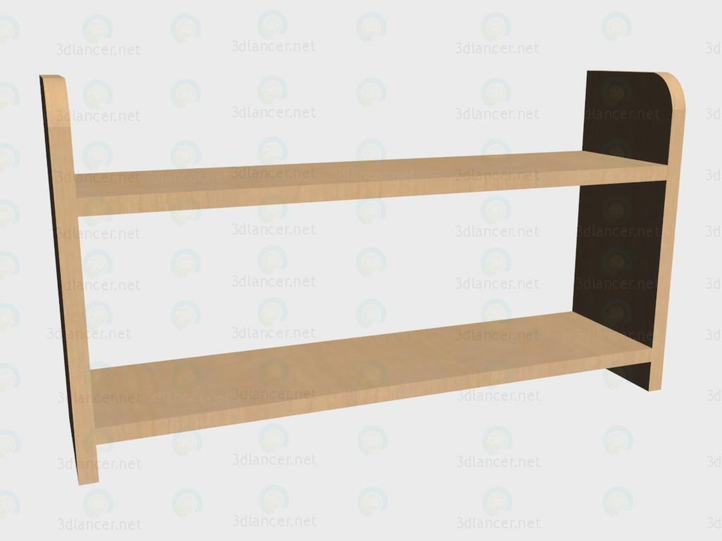 3d modeling Shelf open model free download