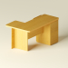 Scarica di scrivania del computer angolo modello gratuito di modellazione 3D