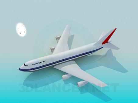 3d modeling Passenger aircraft model free download