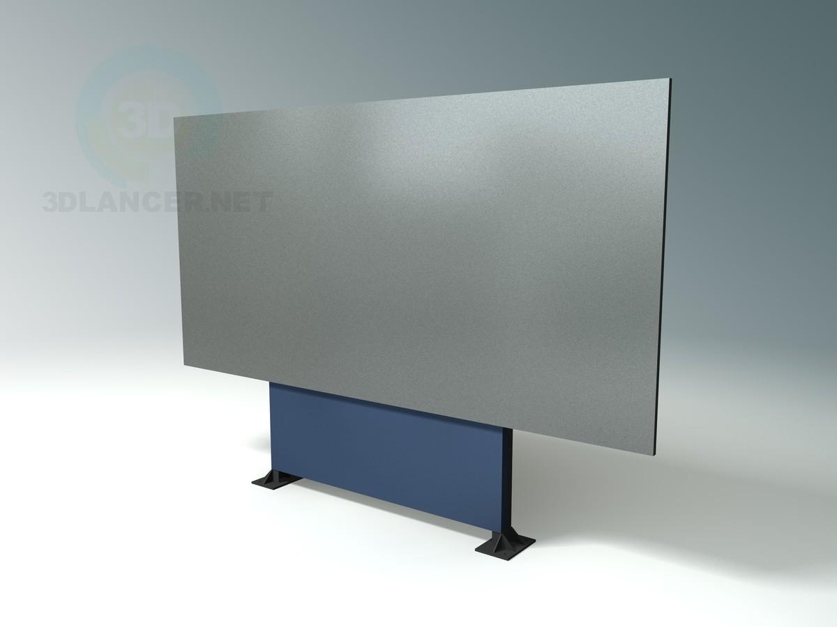 3d modeling billboard model free download