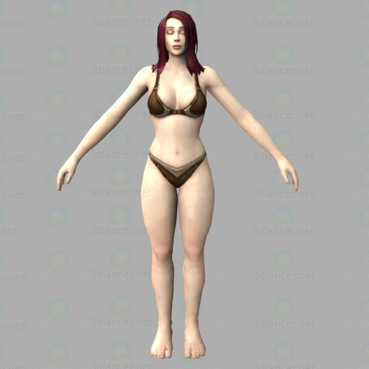 3d modeling Wow-human model free download
