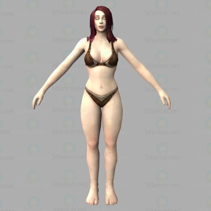 3d модель Wow-human – превью