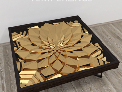 "Table basse ""Lotus"""