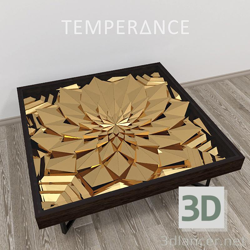 """3d model Log desk """"Lotus"""" - preview"""