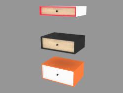 Shelves (45x30cm, H = 10, 15, 20cm)